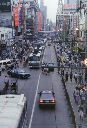 """184次直快至""""上海"""" 1993年》: ヒ..."""